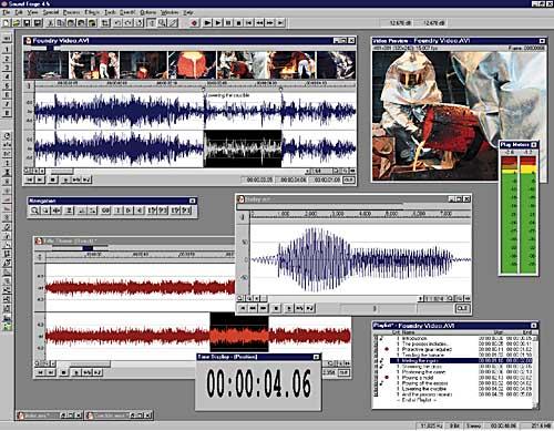 Sound Forge позволяет использовать подключаемые модули (plug-ins.