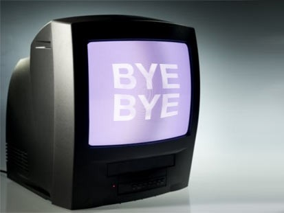 (Sinal analógico de TV nos EUA 1936-2009)